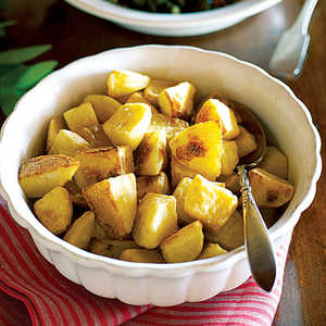 Golden Olive Oil–roasted Potatoes Recipe
