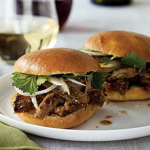 Island-style Pulled Pork Sandwiches Recipe