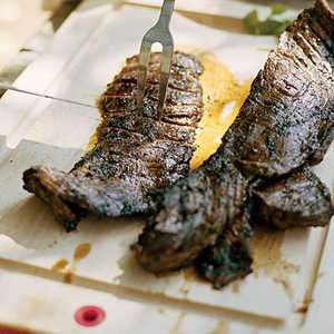 Gaucho Steak with Four-Herb ChimichurriRecipe