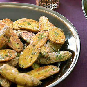 Grilled Fingerlings with DillRecipe