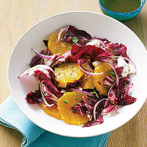 Orange, Radicchio, and Oregano SaladRecipe