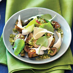 Roasted Baby Artichokes with Spring SalsaRecipe