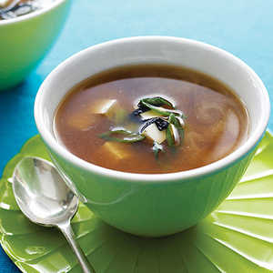 Miso Soup with Tofu and NoriRecipe