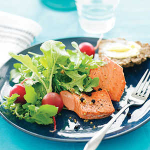 Seattle Pickled Salmon SaladRecipe