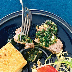 Poached Brisket of Beef with Salsa VerdeRecipe