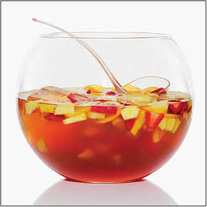 Sunset's Spring Punch Recipe