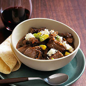 Slow-Braised Red Chile Beef Recipe