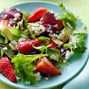 Strawberry Salad with Poppy Seed DressingRecipe