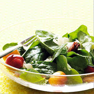 Cherry and Bacon Spinach SaladRecipe