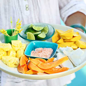 Fancy Fruit Platter Recipe