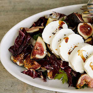 Fresh Goat Cheese and Radicchio Salad with FigsRecipe