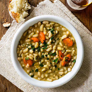 Flageolet Beans with Rosemary and ThymeRecipe