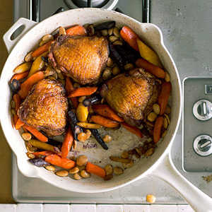 Moroccan Chicken and Carrots Recipe