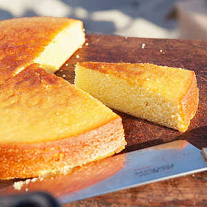 Olive Oil Cake with Summer FruitRecipe