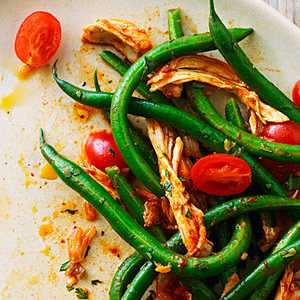 Korean-Style Chicken and Green Bean SaladRecipe