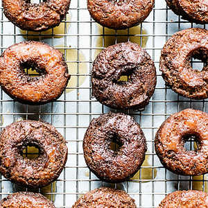 Glazed Cider Doughnuts Recipe
