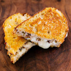 Nan's Grilled Mozzarella and Olive SandwichRecipe