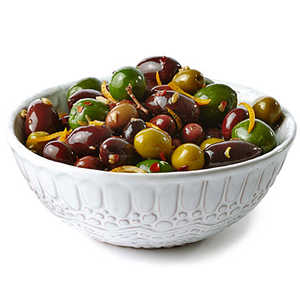 Olives with Orange and Fennel Recipe