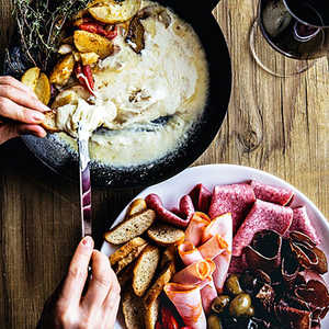 Raclette (Melted Cheese)Recipe