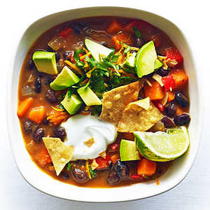 Sweet Potato and Black Bean ChiliRecipe