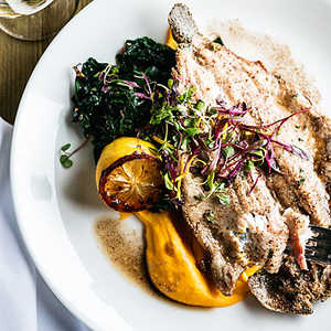 Trout with Root MashRecipe