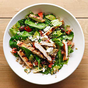 Grilled Chicken and Bulgur SaladRecipe