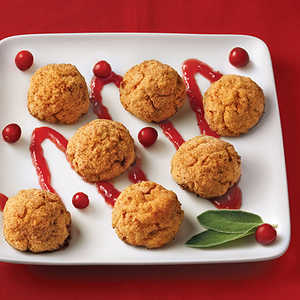 Mini Thanksgiving Bites with Cranberry GlazeRecipe