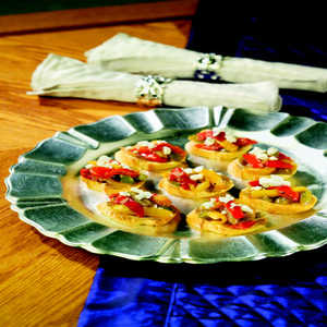 Birds Eye® Bruschetta with Caramelized Peppers & Onions with Goat Cheese Recipe