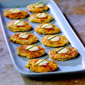 Birds Eye® Southwestern Mini Corn Cake AppetizersRecipe