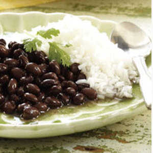 Classic Black Beans and Rice (Reduced Sodium)Recipe
