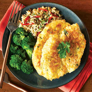 Potato-Crusted Herb Baked Chicken Recipe