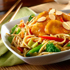 Crispy Orange Chicken BowlRecipe