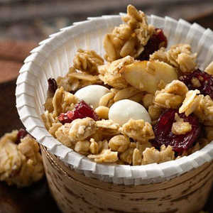 Easy Microwave Cranberry Almond Snack MixRecipe
