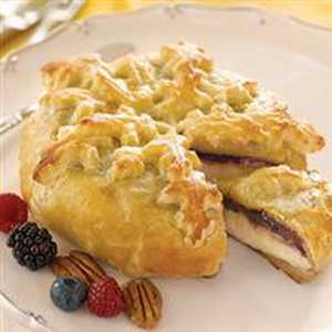 Triple Berry Baked Brie