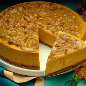 Almond Praline CheesecakeRecipe