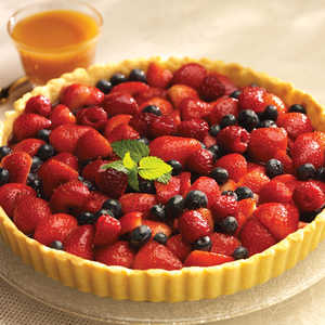 Butterscotch Berry TartRecipe