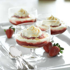 Strawberry Cheesecake ParfaitsRecipe