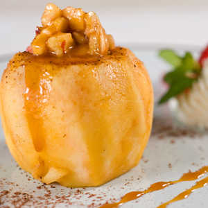 Spicy Baked ApplesRecipe