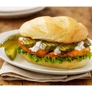 Buffalo Chicken Dill Hoagie
