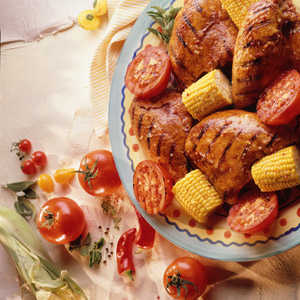 Wish Bone Grilled Summer Chicken RecipesRecipe