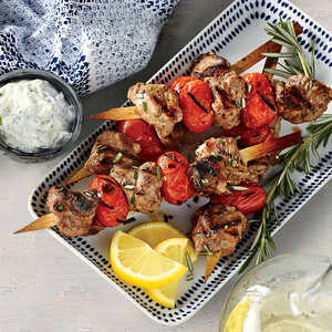 Lamb Souvlaki with TzatzikiRecipe