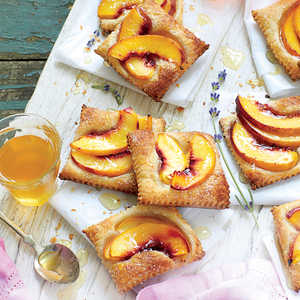 Nectarine Tarts with HoneyRecipe