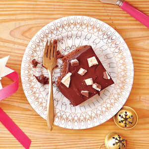 Peppermint-Bark BrowniesRecipe