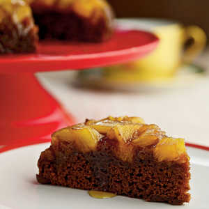 Pineapple Upside-Down Gingerbread CakeRecipe