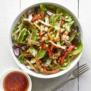Quick Grilled Dinner Salad Recipe