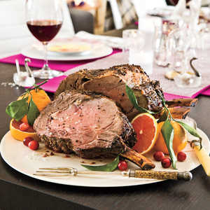 Fennel-Crusted Rib RoastRecipe