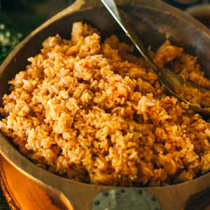 Rice with Tomato and Onion (Arroz Rojo)Recipe