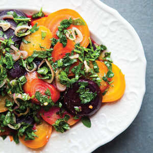 Roasted Beets With ChimichurriRecipe
