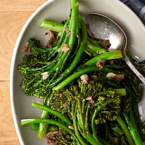 Roasted Broccolini with Anchovy SauceRecipe