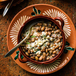 Simple Pot-Cooked Beans (Frijoles de la Olla)Recipe